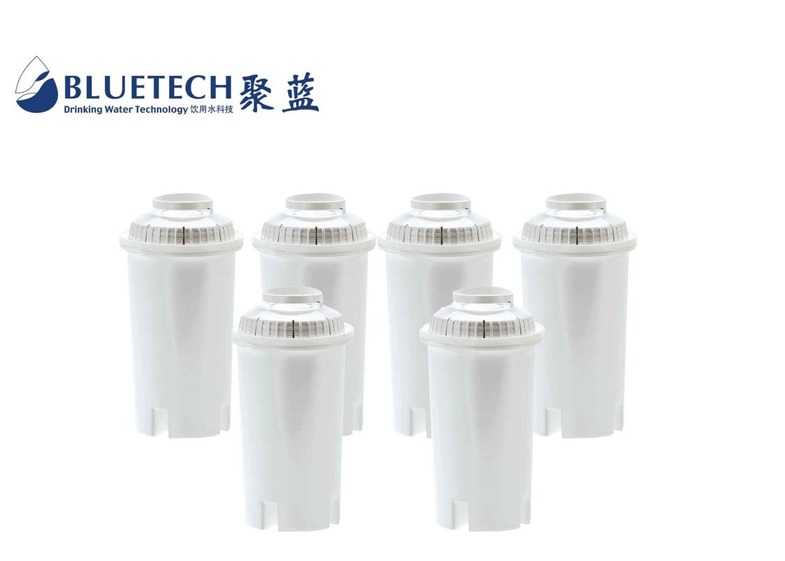 Drinking Water Filter Replacement Cartridges Limescale Removing For Jugs